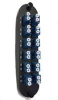 FPC12PSMLCU2B - Adapter Plate 24 Fiber LCU Duplex SM Metal Sleeve - CCH Footprint Equal to CCHCP24A9
