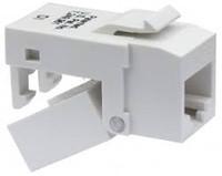 Platinum Tools 705IV-4C EZ-SnapJack Cat5e, Ivory.  4/Clamshell.