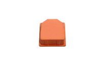"Alcatel-Lucent 106834088 2""x2"" End Cap TCEC2X2ORN (Orange)"