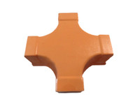 "Alcatel-Lucent 105758882 2"" 4-Way Cross Fiber Duct TCXR2X2ORN (Orange)"