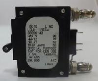 101605 CIRCUIT BREAKER, HYD MAG, 1P, 40AMP , 80 VDC, SPDT, 19 AND 23ö