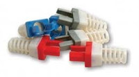 Platinum Tools 100030Y-C Strain Relief for Cat6, (Yellow). 50/Clamshell.
