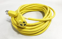 TXM AT7637 Safety Yellow 14 AWG 30' Power Cord