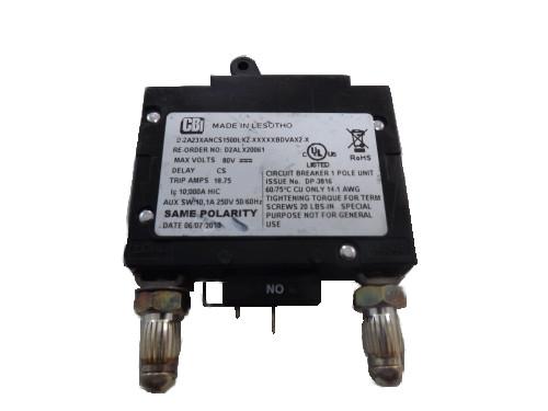 CBI Electric D2ALX20061 - 15 Amp Circuit Breaker - Telexpress Live Store