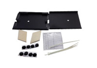 "FP-SPLC-TRAY-01X Single Splice Tray 6-1/2""X4-3/4""X3/8""  (Available in Black and Putty)"