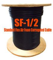 Standard Flex 50 Ohm Coax Cable Bulk 1000' Reel (Compare to LDF4-50A -1/2) SF12M