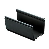 FR4X4YL6 PANDUIT FIBERRUNNER® 4X4 ROUTING SYSTEM, 6 FT, BLACK