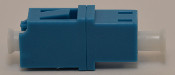 LC Simplex Blue Singlemode Coupler without flange