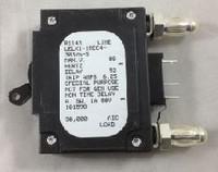 101598  5 AMP CKT BREAKER BULLET BLACK HANDLE 3 PIN W/ STRAP