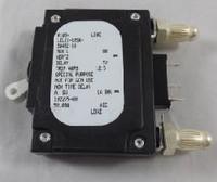 102275  10 AMP CKT BREAKER BULLET WHITE HANDLE 3 PIN W/ STRAP