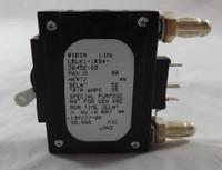 102277  20 AMP CKT BREAKER BULLET WHITE HANDLE 3 PIN W/ STRAP