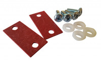 ISOLATION MOUNTING KIT FOR 2RU INCLUDES ISO PADS AND HARDWARE