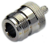 Type N Straight Female Connector for RG8x/LMR240/LMR240UF/LOW240 -  Crimp Connector with Solder Pin