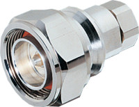 """7/16 DIN Male Connectors for 1/2"""" super flex cable (similar to F4PDMV2-C) - Crimp Connector with Captivated Pin"""
