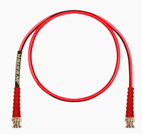 DSX-3 PATCH CORD BNC TO BNC RECEIVE RG59 CABLE RED 10FT - BNCRX-10