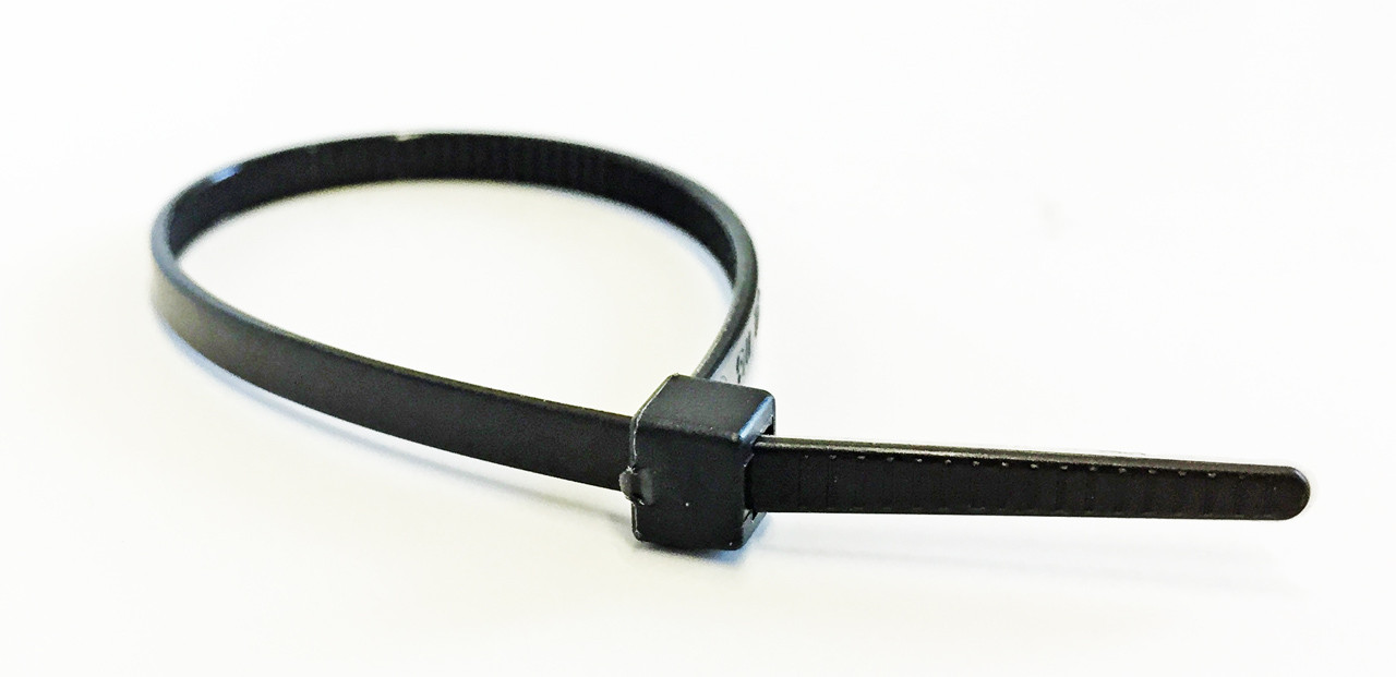 50 LB Standard Cable Ties - Black UV
