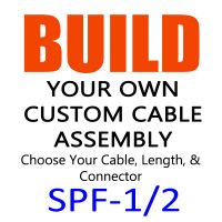 SPF-1/2 Super Flexible Coax Cable - Build Your Own Cable Assembly