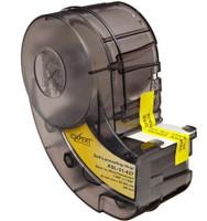 XSL-31-427 IDXPERT® Label Cartridge Self-Laminating Vinyl Black on White 250/Cartridge
