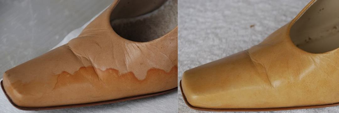 Remove Grease Stain From Leather Shoe