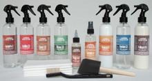 Kit-V3+ - Vachetta Leather Browning / Dyestuff Removal & Care Kit