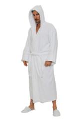 Hooded Terry Velour Robe