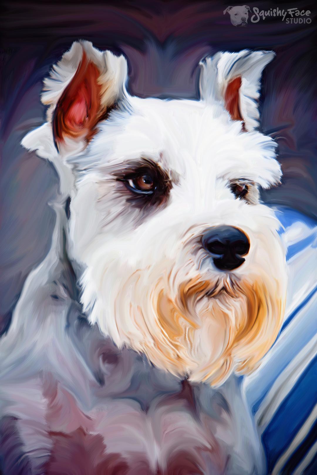 Free Dog Artwork
