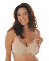 Tee shirt underwire nursing bra by Melinda G