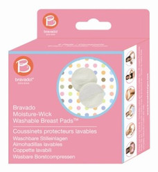 Moisture wicking Bravado nursing pads