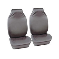 A Pair of Water Resistant Nylon Seat Covers - Grey
