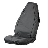 Air Bag Compatible Waterproof Seat Cover - Grey