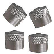 Metal Valve Caps, Schrader - Pack of 4