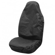 Airbag Compatible Front Seat Protector - Black