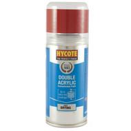Hycote VW Tornado Red Acrylic Spray Paint - 150 ml