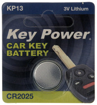 CR2025 Key Fob Battery - 3V