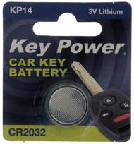 CR2032 Key Fob Battery - 3V