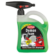 Demon Shine Snow Foam Car Shampoo with Gun Attachment.