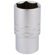 "½"" Square Drive Deep Socket, 6 Point Hex - 32 mm"