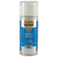Hycote Gloss White Acrylic Spray Paint - 150 ml