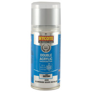 Hycote Aluminium (Met) Acrylic Spray Paint - 150 ml