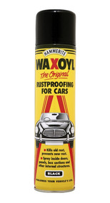Black Waxoyl Rustproofing - 400 ml