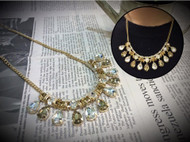 Small Crystal Bling Bling Necklace
