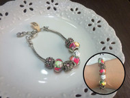 Colored Beads Bracelet