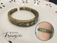 Vintage Crystal Bangle