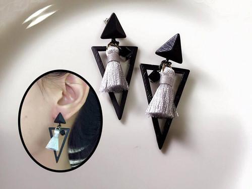 Chic Style Tassel Earrings