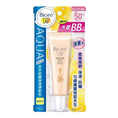 Kao Biore UV Aqua Rich Watery Sunscreen For Face SPF50+ PA+++ BB Water Base