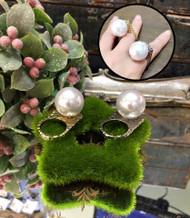 Stylish Pearl Ring
