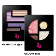 Shiseido Za Impact Full Eyes Gradation Eye Shadow Palette 3g