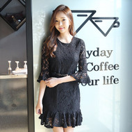 Black Sexy Lace Dress