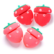 Etude House My Beauty Tool Strawberry Sponge Hair Roll 4pcs