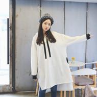 Sporty Hooded Midi Dress